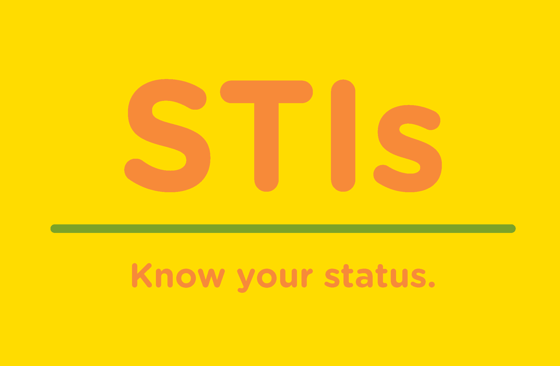 STI. Know your status